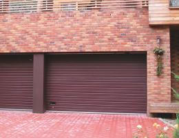 Sekční vrata garážová Louny